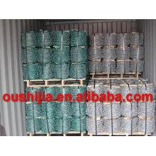 Produit chaud galvanisé fil barbelé de haute qualité (usine)