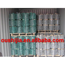 hot product galvanized barbed wire with high quality (factory)