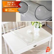 Möbelschutz PVC weiche Kunststoff Klarfolie für Tischdecke