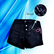 60% Cotton 40% Polyester Lady′s Boyshorts