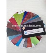 Sparkled Colored Rigid PVC Lamination Sheet for Drum Wrap