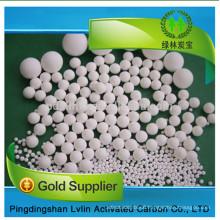 Discount price for activated alumina pellet,potassium permanganat alumina catalyst pellet/alumina ball price per Ton/price in kg