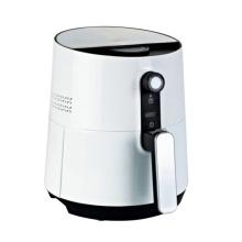 Fritadeira de ar elétrica de 2.6L / 3.6L, controle de temperatura Fritura saudável Sem óleo de alimentação Armazenamento de cabo de alimentação Fritadeira de ar mecânica manual