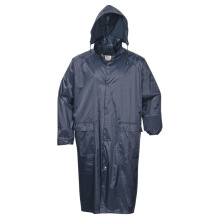 Adult′s Adults Waterproof Polyester Polyester/PVC Raincoat Outdoor Worwear