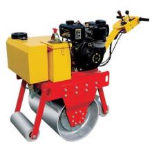 Precio del rodillo vibratorio del compactador 500kg para India