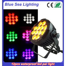 Party show effect waterproof par light LED DJ events outdoor par uplight / 12X18W 4in1 led wedding light