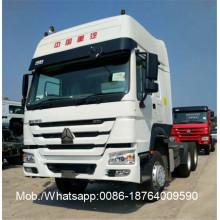 Caminhão do trator de Sleeper 6x4 HOWO7 Sinotruk dois