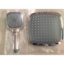 Niedriger Preis ABS Plastikregen-Dusche-Kopf und Plastikhand gesetzt