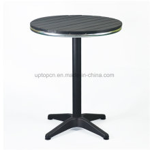 Vintage Round Metal Base Restaurant Table for Outdoor (SP-AT383)