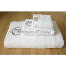 Novidade cores diferentes disponíveis 100 por cento algodão hotel toalhas 5 estrelas
