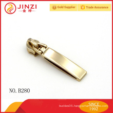 JZ zinc alloy zipper slider in Guangzhou