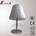 European Hotel Lamp Stainless Steel Rotatable Bedside Table Lamp