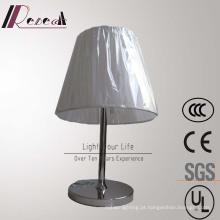 Candeeiro de mesa Rotatable de aço inoxidável da cabeceira da lâmpada européia do hotel