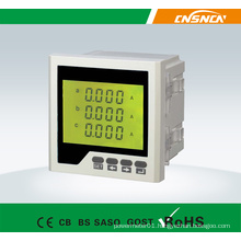 Frame Size 96*96mm Factory Price LCD Display AC Three-Phase Digital Ampere Meter, for Industrial Use