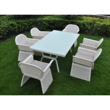 Royal PE Rattan Dining set