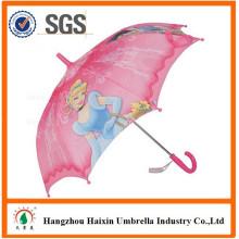 Tela impermeável promocional com Cartoon personagem direto barato crianças guarda-chuva 35cm