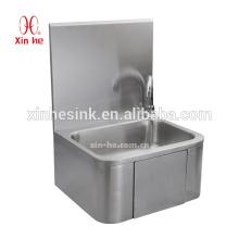 Коммерческая нержавеющей стали настенные современный дизайн колено функционировать для мытья рук санитарно-техническим бассейна для общественных использован