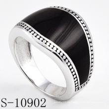 Anillo de joyería de moda modelo clásico de plata 925