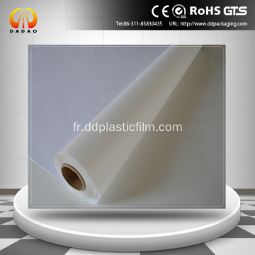 Film PET opaque blanc Film translucide Mylar