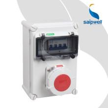 Boîtier en plastique Saipwell IP66 en Chine Gros boîtier en plastique étanche pour alimentation