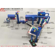 Cloreto de potássio DG350 duplo rolo granulador de adubo