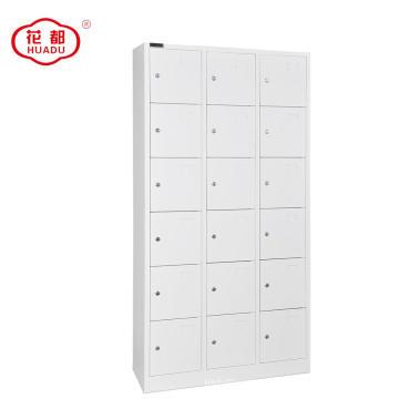 KD structure steel 18 door staff locker
