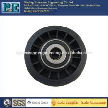 Präzisions-Injektion schwarz Kunststoff Riemenscheibe, Bearbeitung Kunststoff Auto Teile