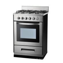 Hochwertiger voller Gasbrenner-Gas-Ofen des Edelstahl-4