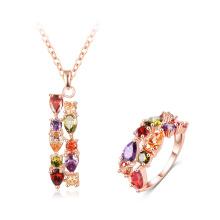 Accessoires pour femmes Collier Ensembles de bijoux en anneau en gros (CST0032-A)
