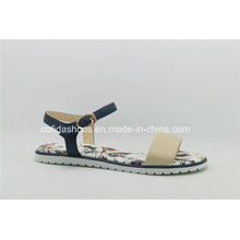 Fashion Comfort Flat Leather Women Sandal