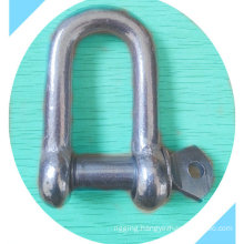 Us Type Screw Pin D Shackle Commercial Type
