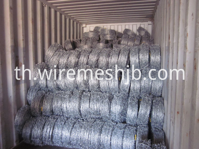 Galvanized Steel Barbed Wire
