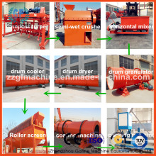 Línea de producción de fertilizantes químicos para la venta