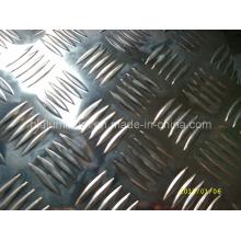 China Manufacturer Aluminum Checker Sheet with 5 Bar Pattern
