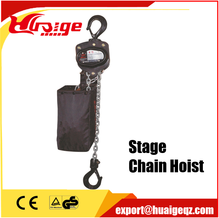 Stage Roof Lighting 1 Ton Stage Chain Hoist