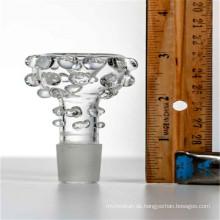 14mm männliche Glasschale zum Rauchen mit 14mm-Stecker Jonit (ES-AC-035)