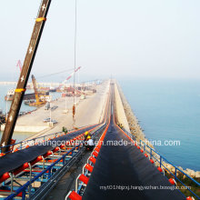 Large Inclination Belt Conveyor / Conveyor System for Sea Port/Harbor