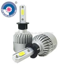 Kit de farol de carro com lâmpada de cabeça automática H3