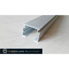 Алюминиевая направляющая с головкой для вертикальных жалюзи Прозрачный анодированный серебристый толстый и стабильный