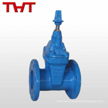 Underground resilient chemistry industry lining wedge gate valve