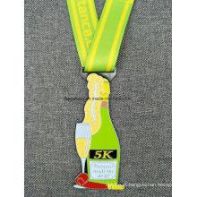 Medalha de carnaval de fita de pescoço de fita de alta qualidade