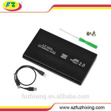 2.5 pulgadas SATA externo USB HDD caso