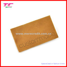Custom High End Genuine Leather Label Patch