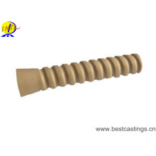 Manchon en plastique de rail de HDPE / PA66 pour le système de fixation de rail