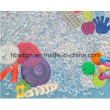 Branco TPR Termoplástico Borracha Virgem Grânulos de plástico Preço