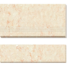 Double Loaded Polished Porcelain Stair-Tiles (AJ-01)