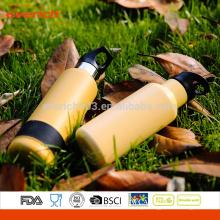 Nova garrafa de água desportiva de aço inox BPA