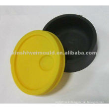 customized molded soft rubber cap making