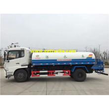 8500L 4x2 Dongfeng camiones cisterna de agua
