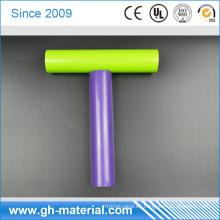 Tubo de PVC negro barato a granel rígido a granel del tubo del PVC